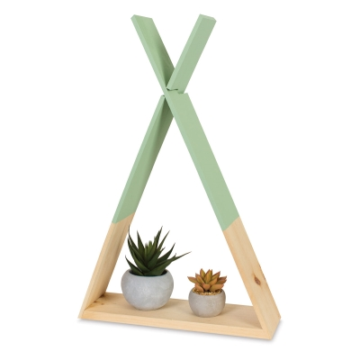 Teepee Shelf Sample Artwork