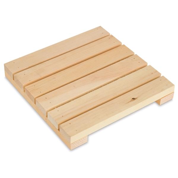"Rustic Pine Pallet, 11"" x 11"""
