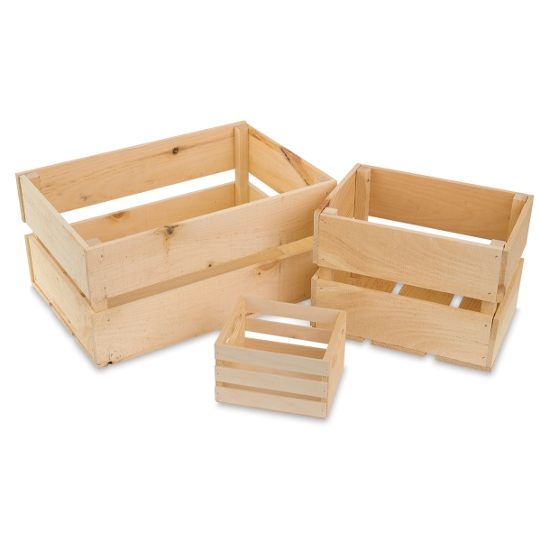Walnut Hollow Pine Crates