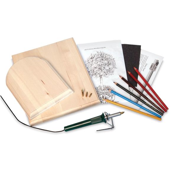 Creative Woodburning Deluxe Kit