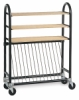 Brent Kiln Shelf Cart
