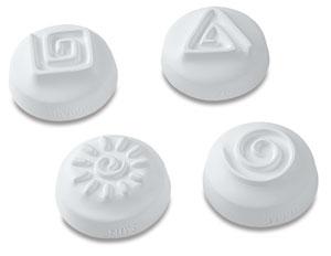 Set of 4, Spiral Designs