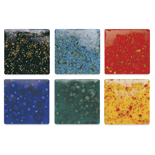Jungle Gems Crystal Glazes, Class Pack #1