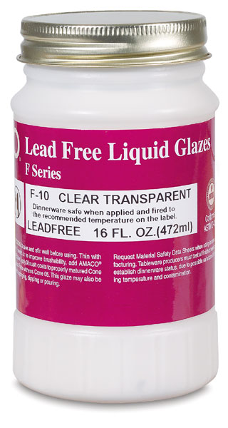 Clear Transparent Glaze, Pint Jar