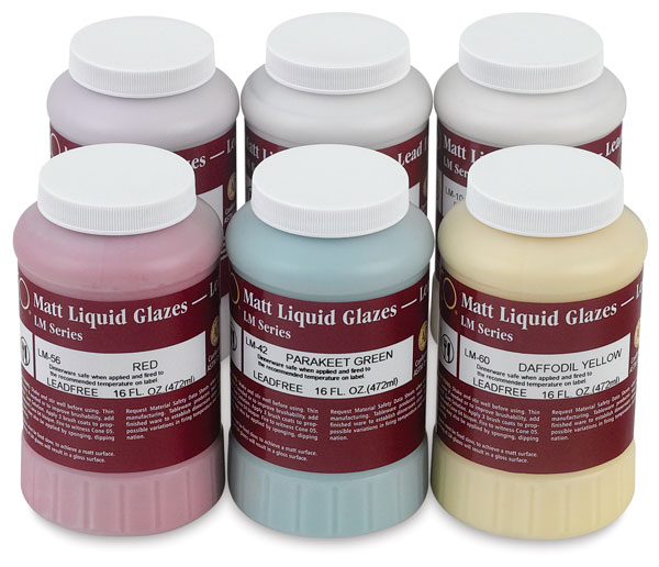Classroom Pack 1, Set of 6 Glazes