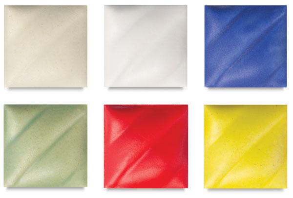 Classroom Pack 1, Set of 6 Glazes