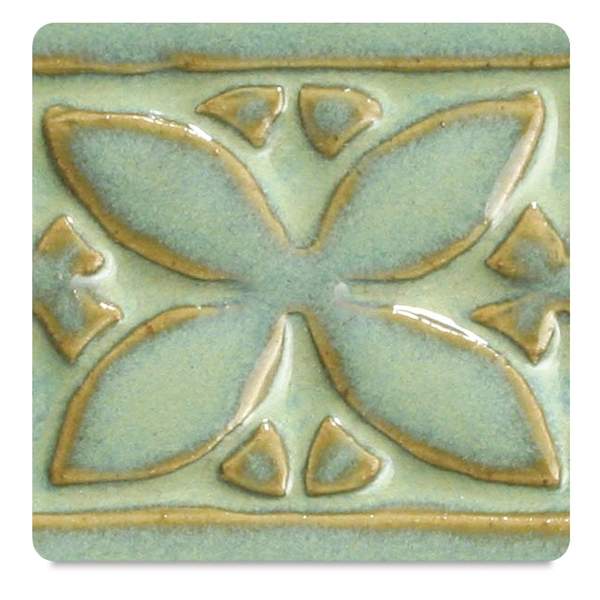 Amaco Potter's Choice Glaze, Textured Turquoise