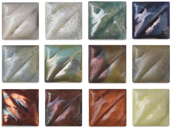 Lead-Free Raku Glazes
