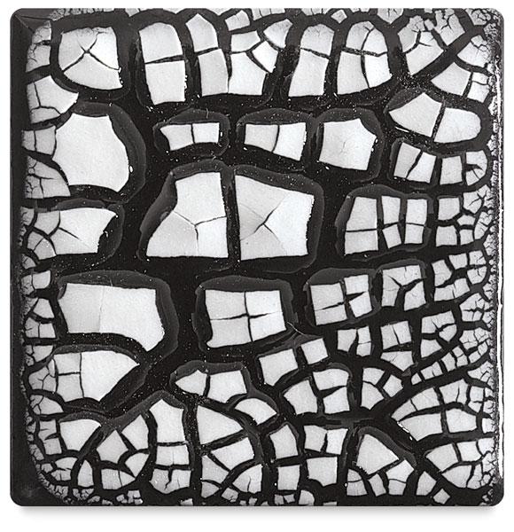 Cobblestone Glaze, White