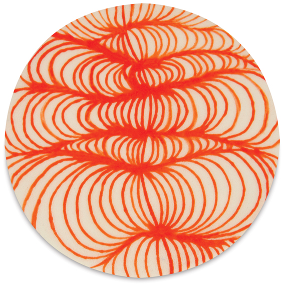 Example of Designer Liner, Orange