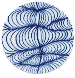 Example of Designer Liner, Blue