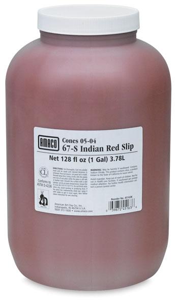 Sedona Red Casting Slip