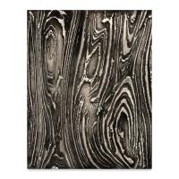 Designer Clay Mat, Wood Grain Texture, Sample Artwork