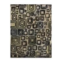 Designer Clay Mat, Retro Squares, Sample Artwork