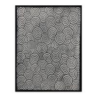 Designer Clay Mat, Spiral, Sample Artwork
