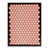 Designer Clay Mat, Honeycomb, Sample Artwork