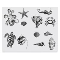 Sea Life Silkscreen
