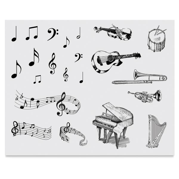 Music Silkscreen