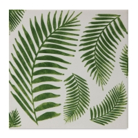 Mayco Designer Stencil, Fern Leaf Stencil Sample Artwork