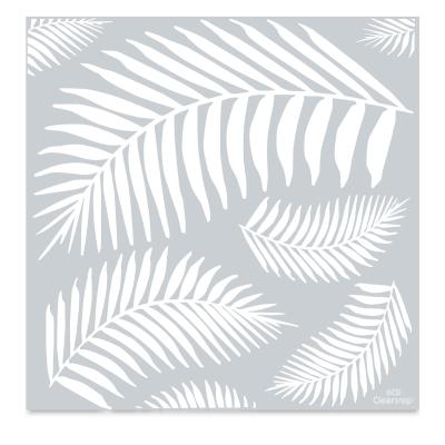Mayco Designer Stencil, Fern Leaf Stencil