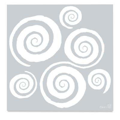 Twirls Stencil