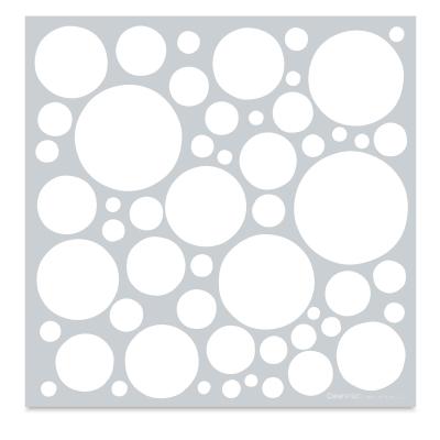 Mayco Designer Stencil, Spots Stencil