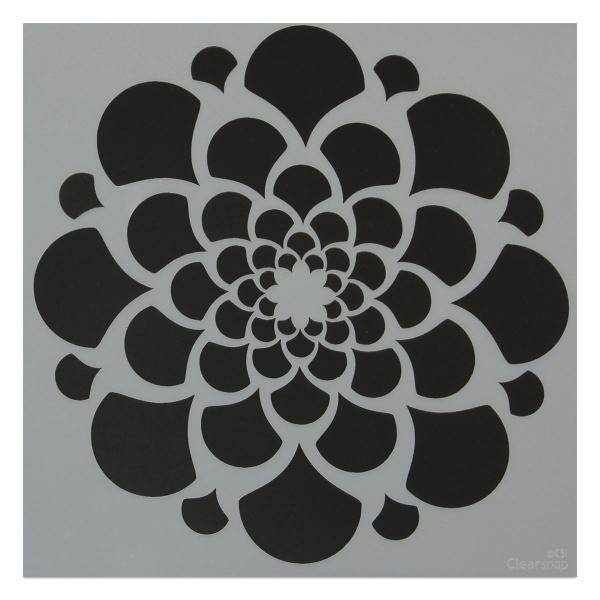 Mayco Designer Stencil, Atomic Stencil
