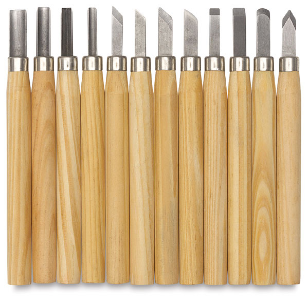 Student Wood Chisels, Set of 12