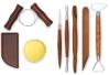 8-Piece Beginner Pottery Tool Set