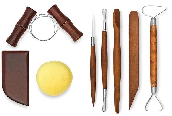 Beginner Pottery Tool Set