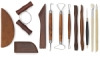 12-Piece Basic Pottery Tool Set