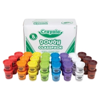 Crayola Dough, Set of 48, 3 oz tubs