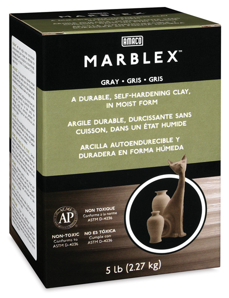 Marblex Gray Clay