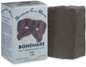 Boneware Moist Clay, Gray