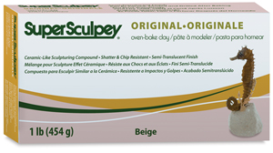 Super Sculpey, 1 lb Package