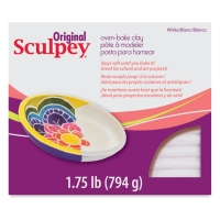 Original Sculpey, White, 1.75 lb Package