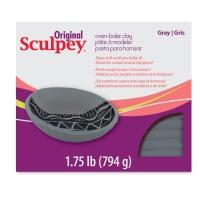 Original Sculpey, Gray, 1.75 lb Package