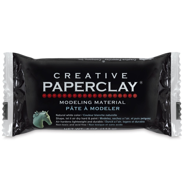 Creative Paperclay, 4 oz