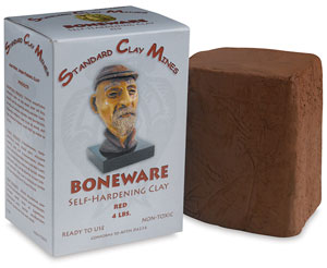 Boneware Moist Clay, Red