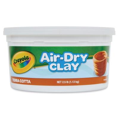 Crayola Air-Dry Clay, 2½ lb Bucket, Terra Cotta