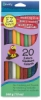 Package of 20, Assorted Colors