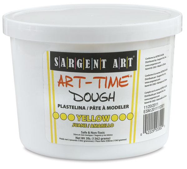 Art-Time Dough, Yellow 3 lb