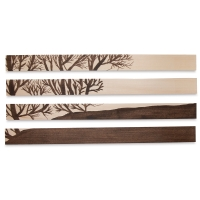 Genuine Basswood Sheets (Example of Artwork)