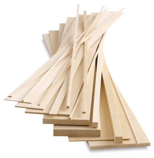 Basswood Strips and Sheets