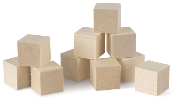 Basswood Blocks, 10 Pieces