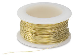 Brass Wire, 28 gauge