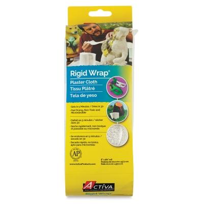 """Rigid Wrap Plaster Cloth Roll, 8"""" x 5 yards"""