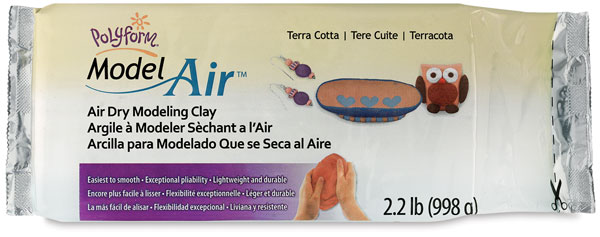 Model Air Clay, Terra Cotta
