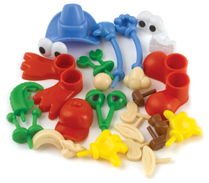 Modeling Dough and Clay Body Part Accessories