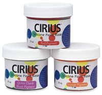 Cirius Silicone Pigments and Paint Medium